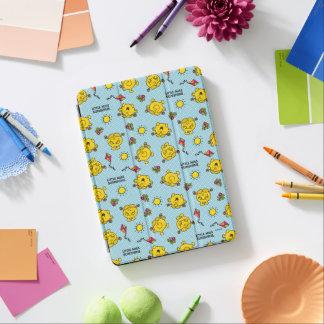 Protection iPad Air Petit motif de point turquoise de polka de Mlle
