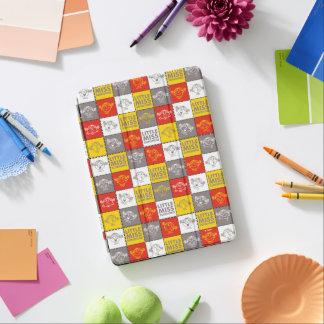Protection iPad Air Petite Mlle Sunshine motif rouge et jaune de  
