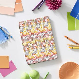 Protection iPad Air Petite Mlle Sunshine   tout le motif de sourires