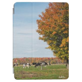 Protection iPad Air photo de vaches avec arbre