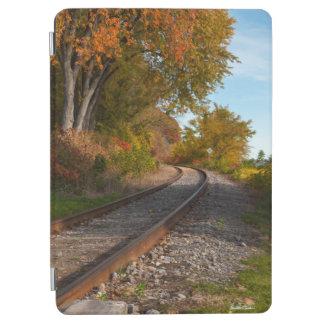 Protection iPad Air photo d'un chemin de fer