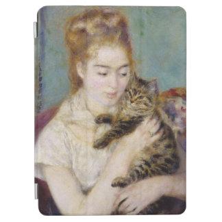 Protection iPad Air Pierre une femme de Renoir | avec un chat