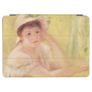 Protection iPad Air Pierre une femme de Renoir | dans un chapeau de
