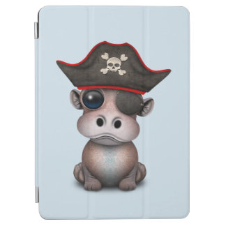 Protection iPad Air Pirate mignon d'hippopotame de bébé