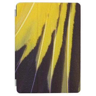 Protection iPad Air Plumes de Bowerbird éventées par jaune