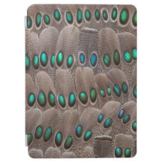 Protection iPad Air Plumes de faisan repérées par vert