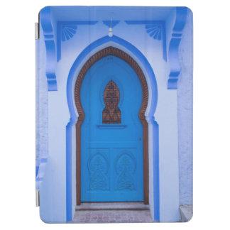 Protection iPad Air Porte marocaine bleue