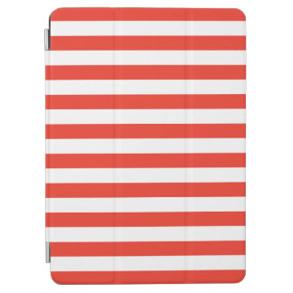 Protection iPad Air Rayures rouges horizontales
