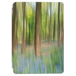 Protection iPad Air Région boisée BRITANNIQUE de chêne de jacinthe des