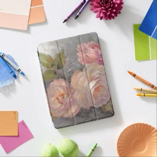 Protection iPad Air Roses avec le gris