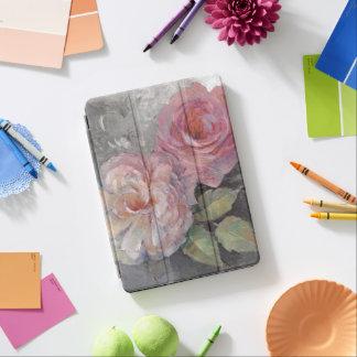 Protection iPad Air Roses sur le gris