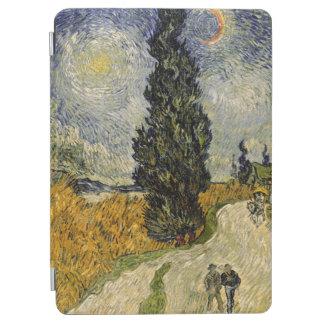 Protection iPad Air Route de Vincent van Gogh   avec des cyprès, 1890