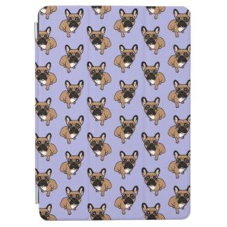 Protection iPad Air Soyez gentil au faon noir mignon Frenchie de