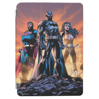 Protection iPad Air Superman, Batman, et trinité de femme de merveille