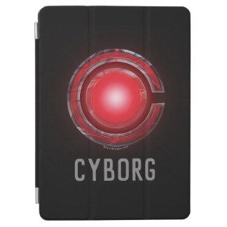 Protection iPad Air Symbole rougeoyant de cyborg de la ligue de