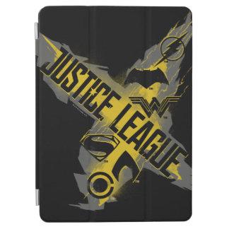 Protection iPad Air Symboles de ligue et d'équipe de justice de la