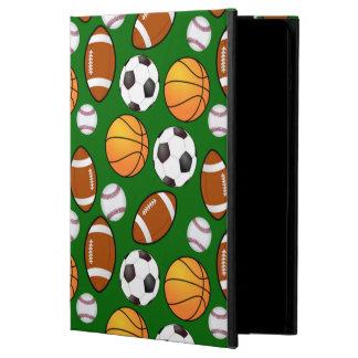 Protection iPad Air Très frais et Special folâtre le thème sur le vert