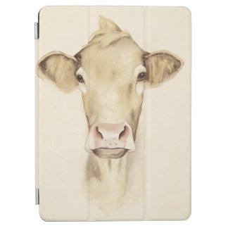Protection iPad Air Vache aux animaux | de grange d'aquarelle