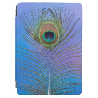 Protection iPad Air Verticale de plume de paon