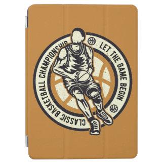 Protection iPad Air Vieille école Baller de championnat classique de
