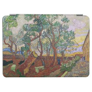 Protection iPad Air Vincent van Gogh | le jardin de l'hôpital de St