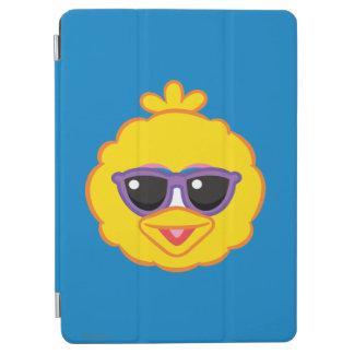 Protection iPad Air Visage de sourire de grand oiseau avec des