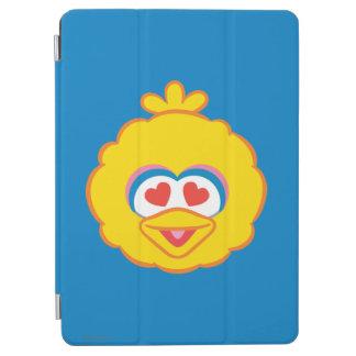 Protection iPad Air Visage de sourire de grand oiseau avec les yeux en