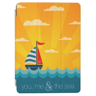 Protection iPad Air Vous moi et la mer