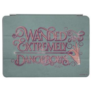 Protection iPad Air Wanded et graphique extrêmement dangereux - rose