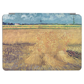 Protection iPad Air Wheatfield de Vincent van Gogh | avec des gerbes,