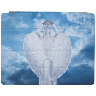 Protection iPad Ange dans les nuages