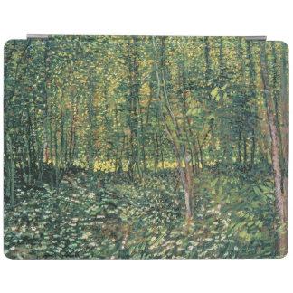 Protection iPad Arbres de Vincent van Gogh | et broussaille, 1887