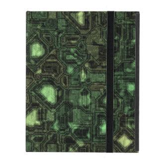 Protection iPad Arrière - plan de circuit d'ordinateur