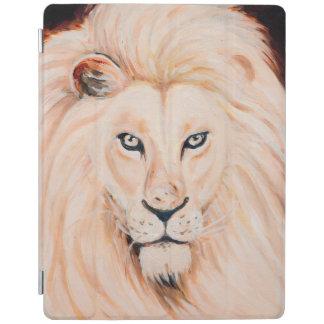 Protection iPad Art fort d'huile de portrait de lion