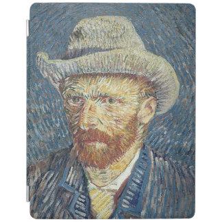 Protection iPad Autoportrait de Vincent van Gogh | avec le chapeau