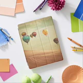 Protection iPad Ballons à air chauds dans le ciel