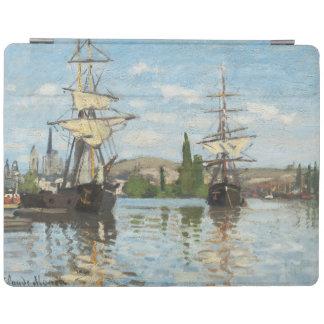 Protection iPad Bateaux de Claude Monet | montant sur la Seine à
