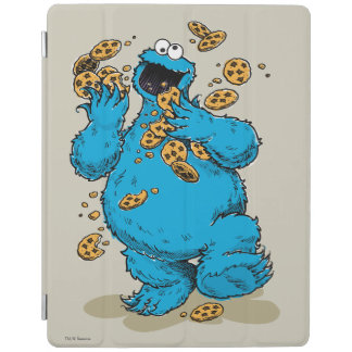 Protection iPad Biscuits fous de monstre de biscuit