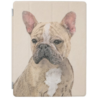 Protection iPad Bouledogue français (sable)