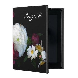 Protection iPad Caisse démodée de l'air 2 d'iPad de Powis de roses