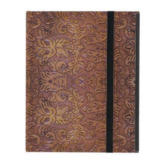 Protection iPad Caisse en cuir usinée de l'iPad 2/3/4 de