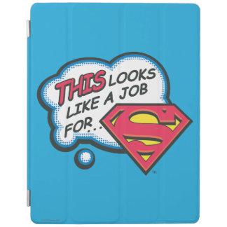 Protection iPad Ceci ressemble à un travail pour Superman