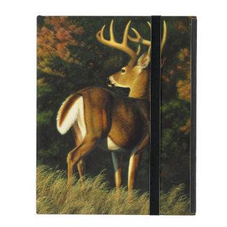 Protection iPad Chasse de mâle de trophée de cerf de Virginie