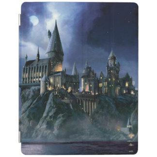 Protection iPad Château | Hogwarts éclairé par la lune de Harry