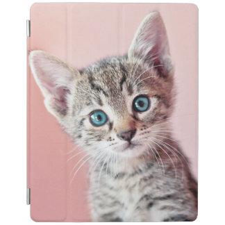 Protection iPad Chaton mignon avec les yeux bleus
