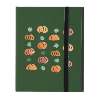 Protection iPad Citrouilles avec le cas de l'iPad 2/3/4 de feuille