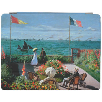 Protection iPad Claude Monet | la terrasse chez Sainte-Adresse,