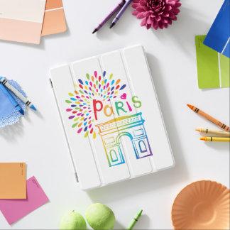 Protection iPad Conception au néon de Paris France | Arc de