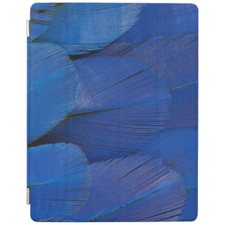 Protection iPad Conception bleue de plume d'ara de jacinthe