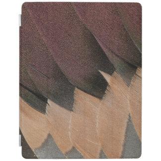 Protection iPad Conception de plume de canard de canard pilet